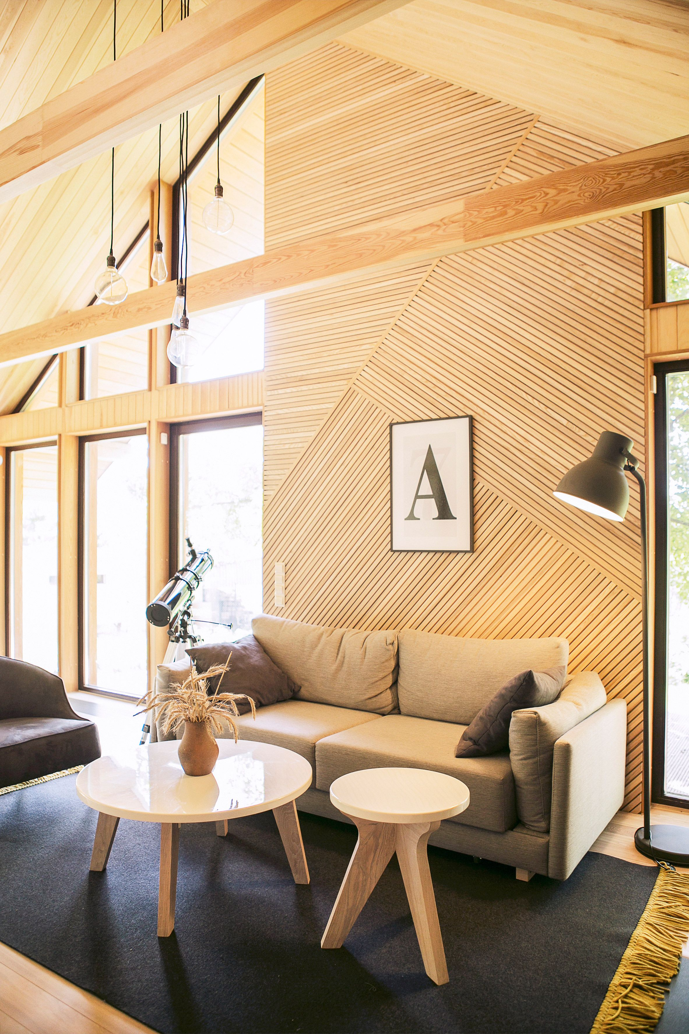 Zrobym Architect S Belarusian House References Scandinavian Architecture In 2020 Hygge Living Room Hygge Living Interior Architecture