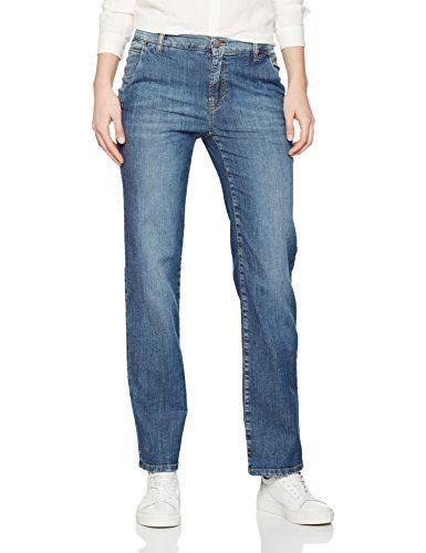 Marc Cain Collections Damen Bootcut Jeans GC 82.41 D03 Blau