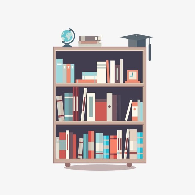 Vector Painted Bookshelf Bookshelf Hand Painted Bookshelf Cartoon Bookshelf Png Transparent Clipart Image And Psd File For Free Download Painted Bookshelves Bookshelf Art Bookshelf Organization