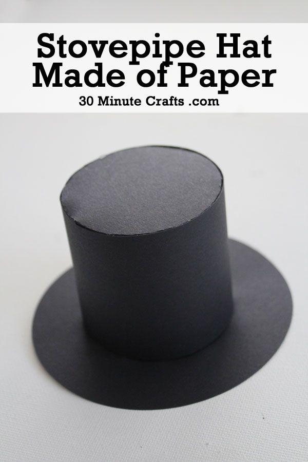 Stovepipe Hat Craft Hat Crafts Crafts Abe Lincoln Costume