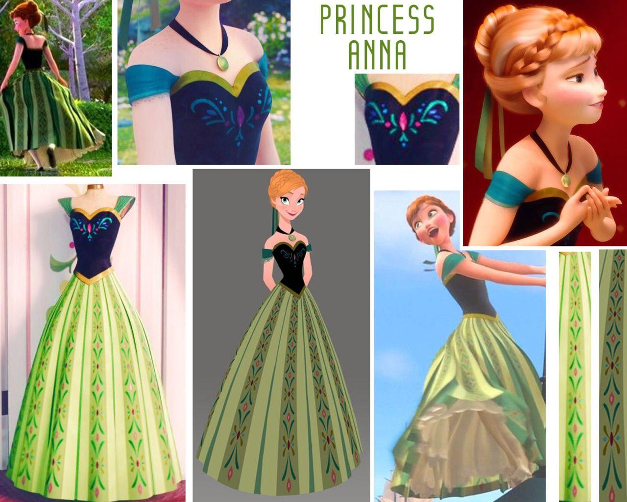 Penetrazione posto in realtà  Cosplay References   Anna costume, Princess anna costume, Disney princess  dresses