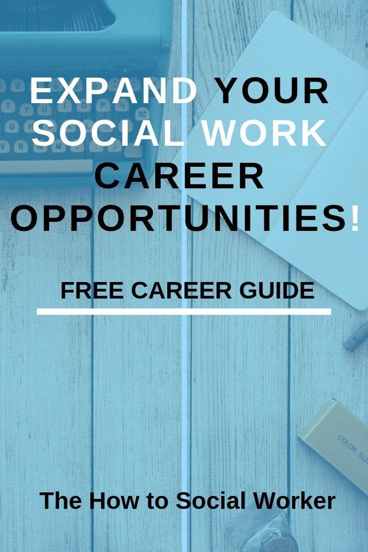 Work Careers and Opportunities If you're like me, you are looking for ways to advance in your social work career.  Starting out in the mental health profession can be overwhelming between learning practice techniques and navigating the office politicsIf you're like me, you are looking for ways to advance in your social work ca...