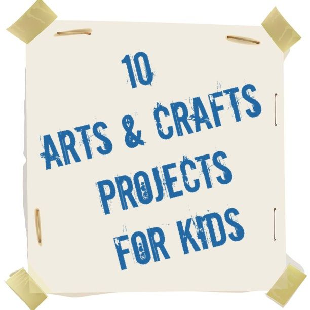 Exceptional Arts And Crafts Ideas For Kids Summer Camp Part - 7: 10 Fun And Easy Arts And Crafts Projects For Kids To Make This Summer. Pin