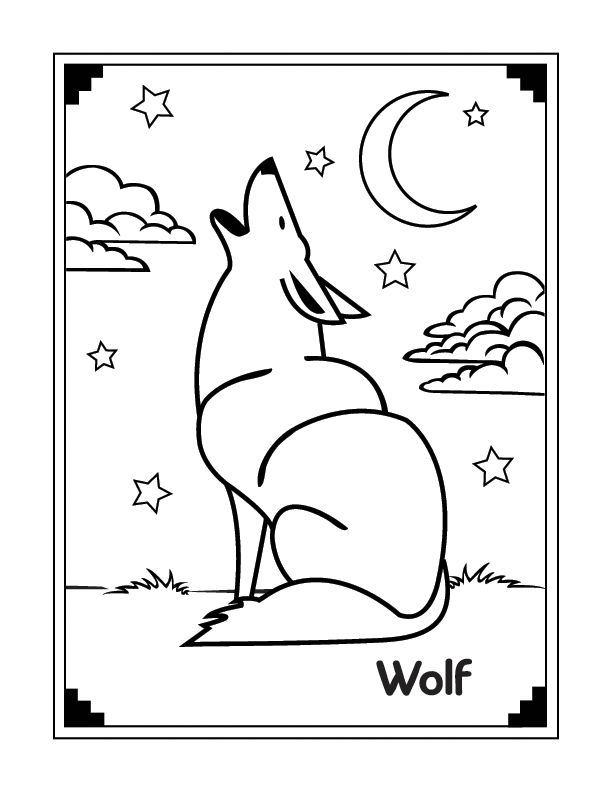 cute wolf coloring pages wolf coloring pages free printable pictures coloring pages for kids. Black Bedroom Furniture Sets. Home Design Ideas