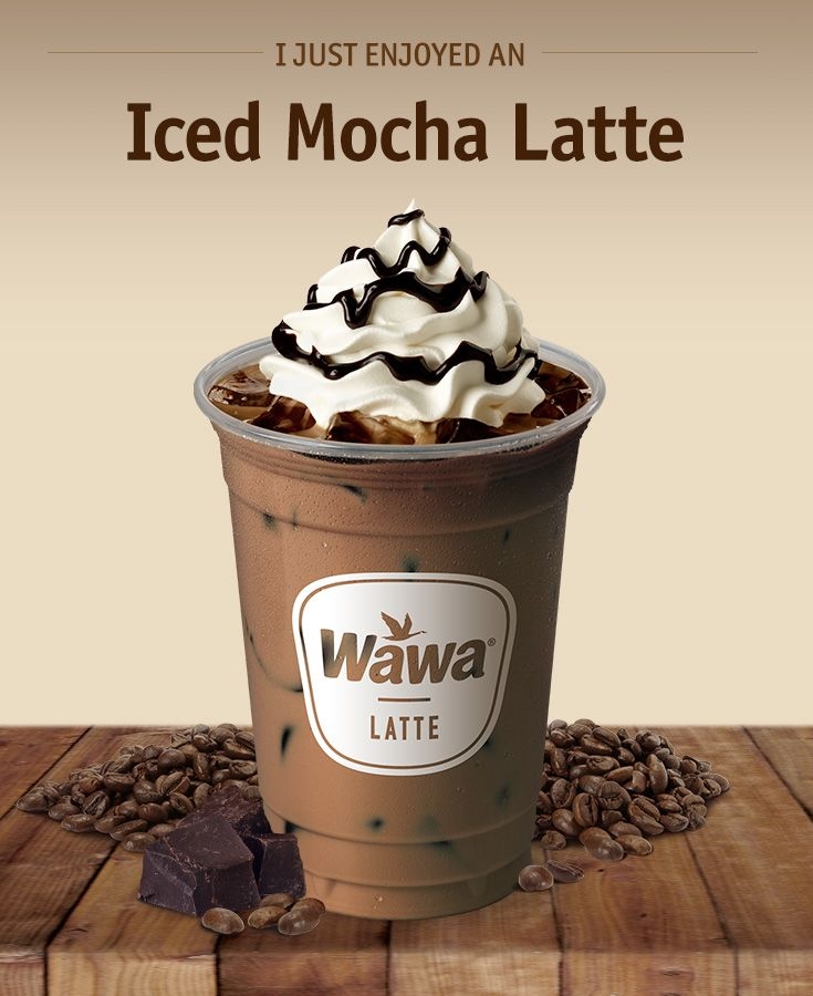 Wawa Hot & Iced Beverages: Iced Mocha Latte
