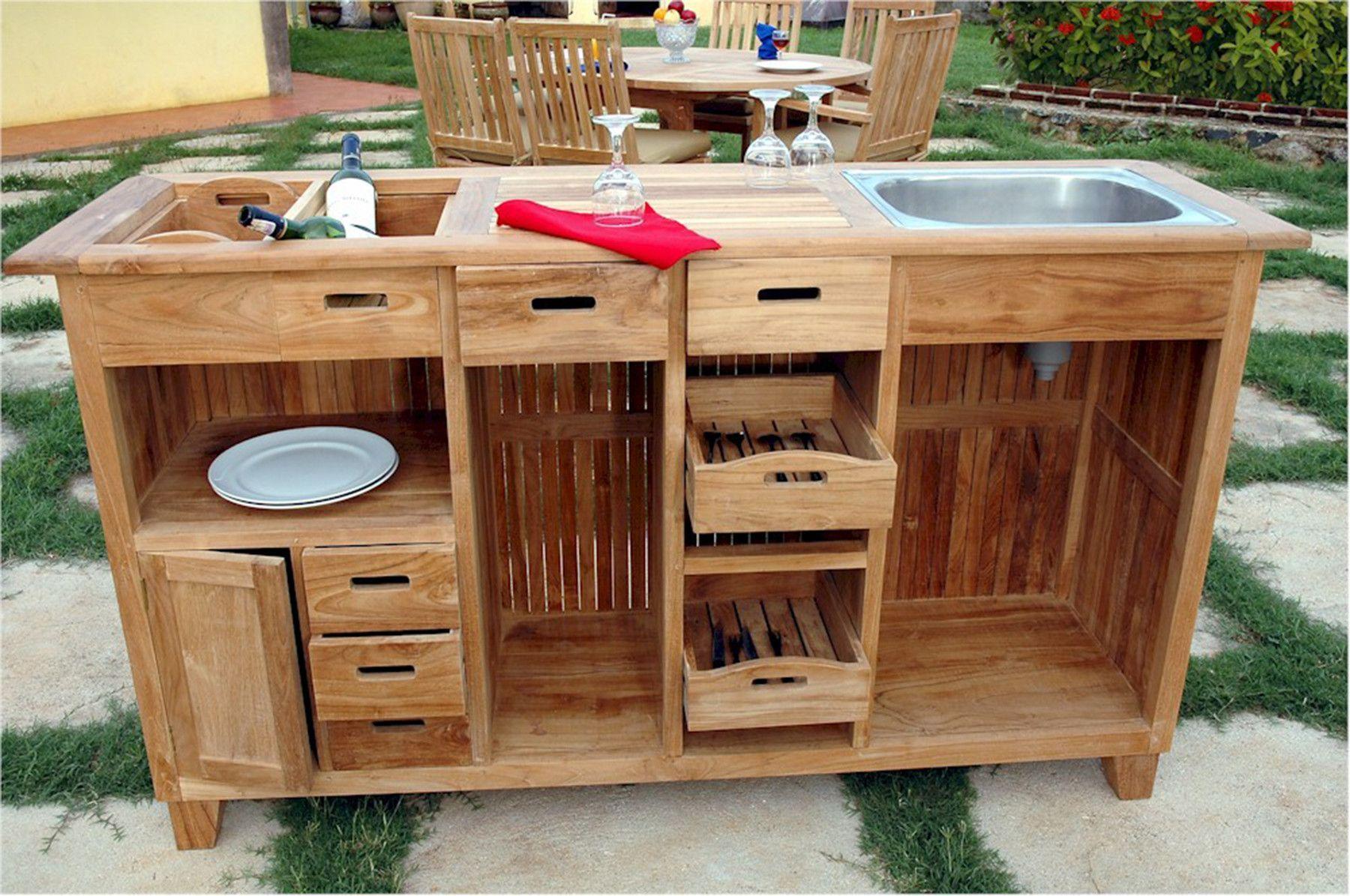 Anderson Teak Safari Large Teak Bar Table Tb 6620bt Meuble Exterieur Mobilier De Salon Cuisine Exterieur