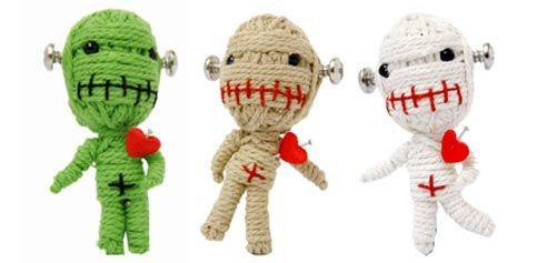 Don't like vodoo dolls but I like the design! http://coaster.hubpages.com/hub/Handmade-String-Voodoo-Dolls