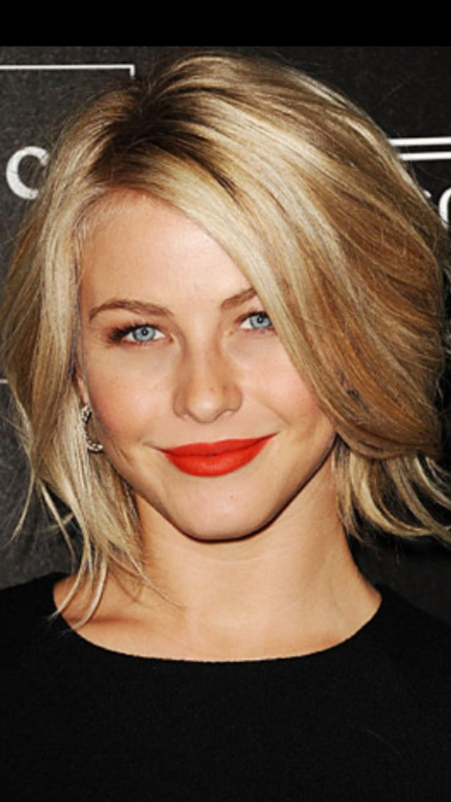 I love Julianne Hough's bob! It's got lots of texture and is so versatile.