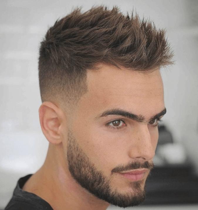 Frisuren Manner Tonsur Kurze Haare Stylen Haare Stylen Haar Frisuren Manner