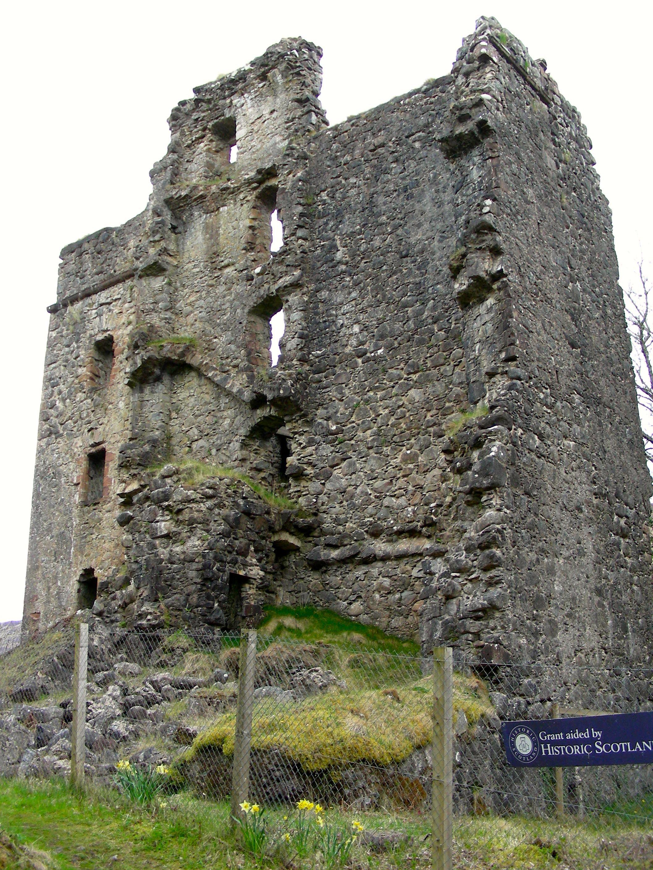 Invergarry Castle ruins, Scotland