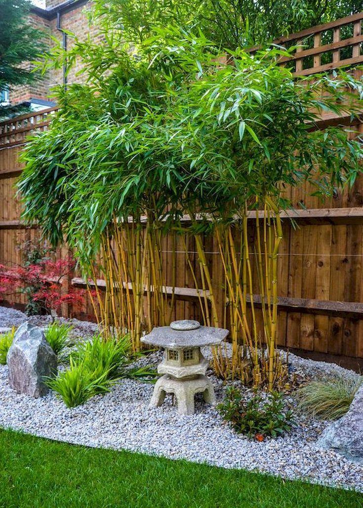 80 wunderbare Seitenhof und Hinterhof japanische Garten Design-Ideen  #design #garten #hinterhof #ideen #japanische #seitenhof #wunderbare #landschaftsbauideen