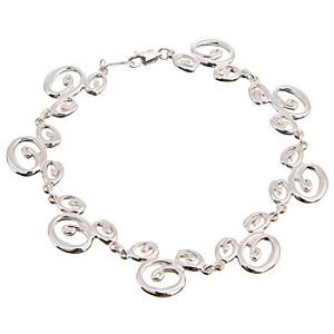 Disney Sterling Silver Swirl Mickey Mouse Bracelet | Disney StoreSterling Silver Swirl Mickey Mouse Bracelet - You might say our Sterling Silver Swirl Mickey Mouse Bracelet brings the wonderful whirl of Disney to life. Dazzling in sterling silver, it combines wit and sophistication in an updated version of one of our favorite icons.