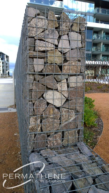 gaviones decorativos mil anuncios com para piedras 134526673 3 permathene.com.au Gallery (Gabions) Canberra - Kingston Foreshore :  Permathene Australia, Landscaping and Environmental
