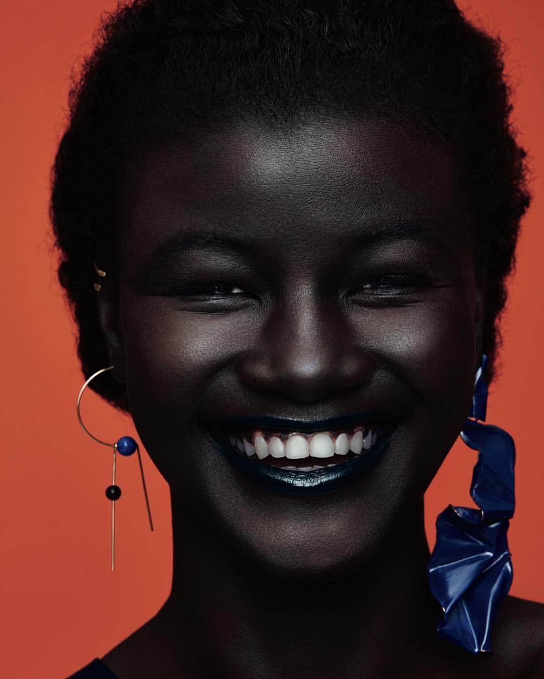 khoudia diop melaniingoddess dark skin dark skin