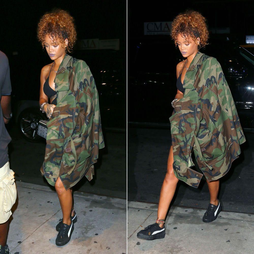 Rihanna Puma Suede