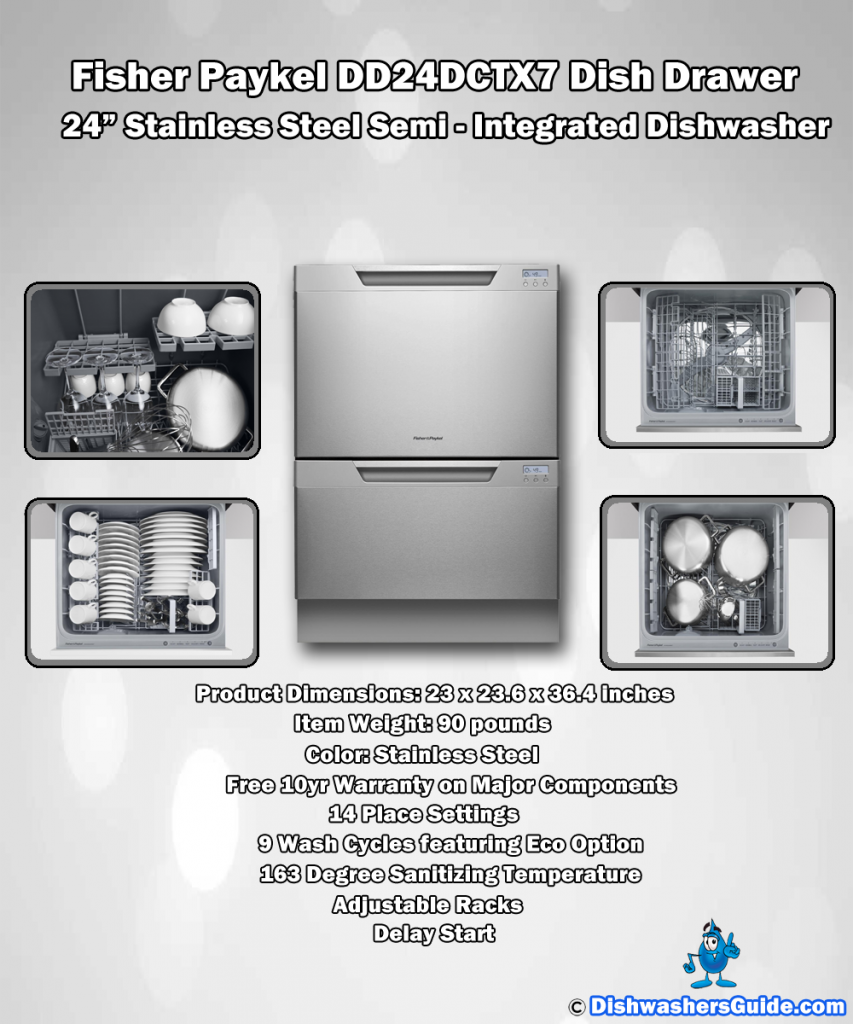 dishdrawer to upgrade fisher most dishdrawers top popular vs drawers double paykel dishwashers option reasons standard dishwasher drawer