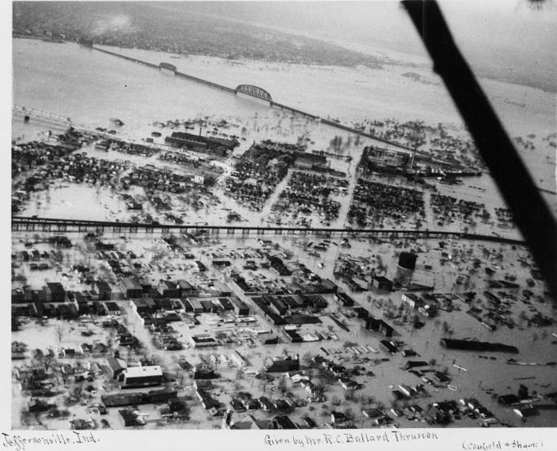 The Great 1937 Flood Of Louisville Southern Indiana