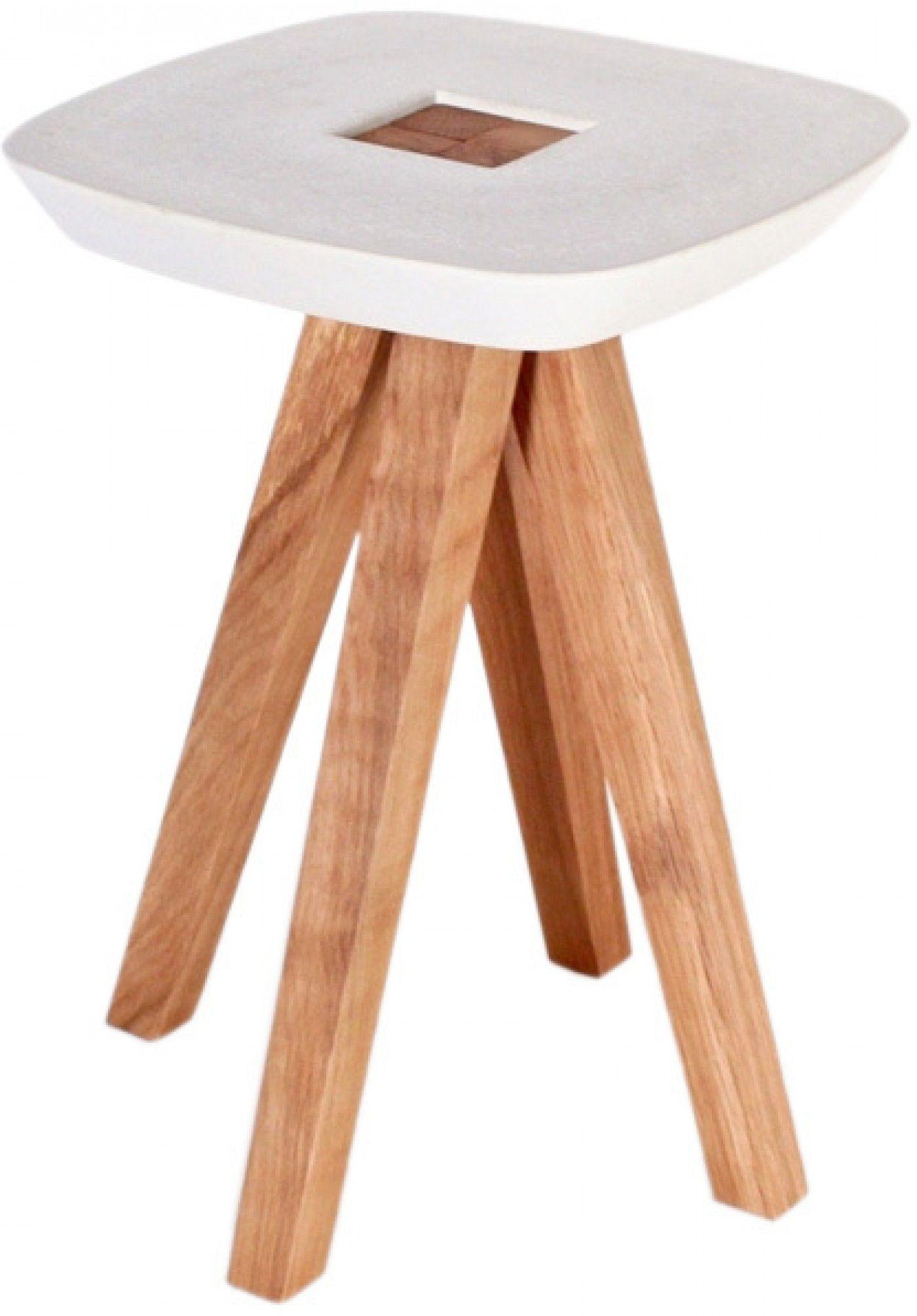tabouret bout de canap bois bton ydin mobilier dans la maison - Bout De Canape Bois