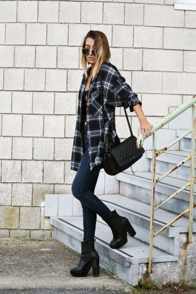 little tops big flannels LAus blog  u fashion u  Pinterest