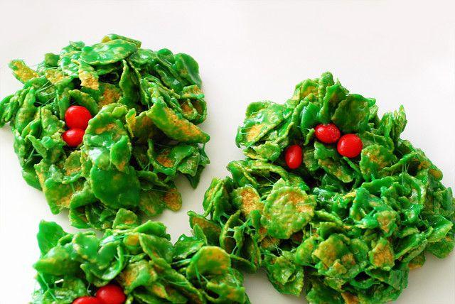 recipe: cornflake wreaths recipe [11]