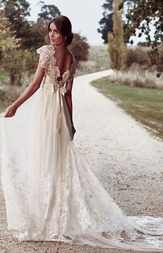 Wedding Dress Inspiration - Anna Campbell | Anna campbell, Dress ...