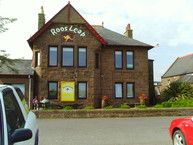 Roo's Leap is a burger place in Montrose, Scotland. I often took the family there.