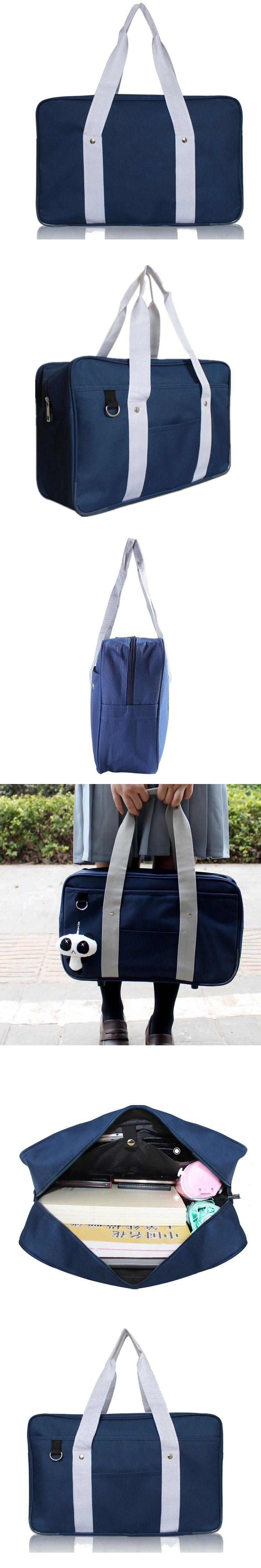 1553adbf3545 Japanese School Bags Large Capacity Portable Handbags Shoulder Bag For Youth  Girls and Boys High Quality