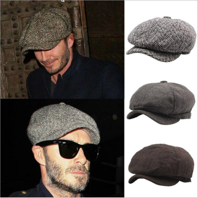 SUNSIOM Mens Wool Newsboy Hat Gatsby Cap Winter Driving 8 Panel Gift for  boyfirend | Newsboy cap men, Newsboy cap, Hats for men