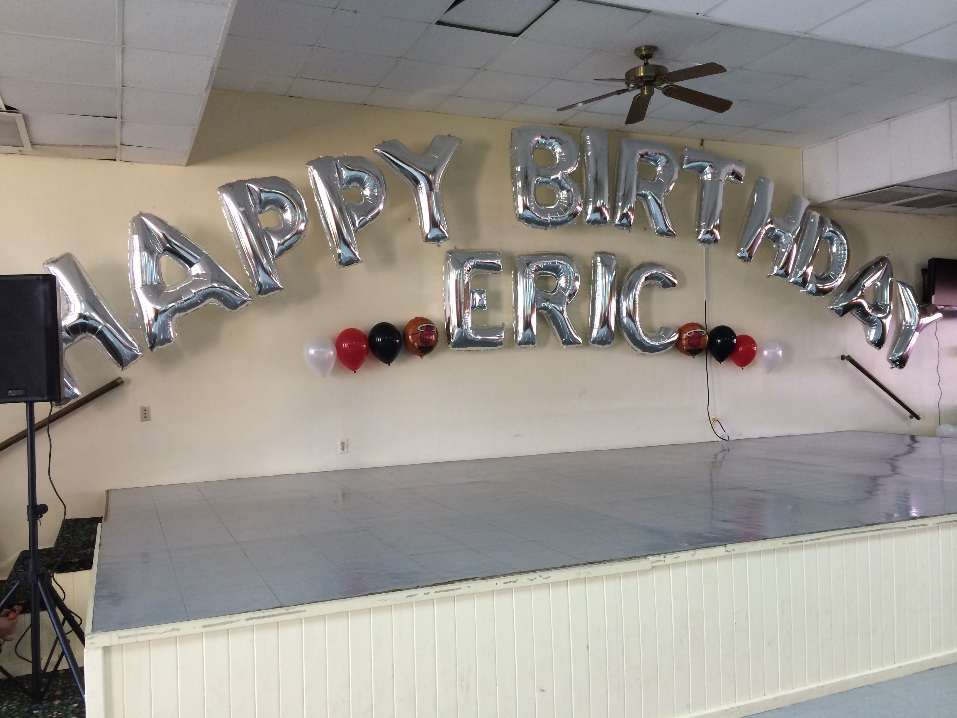 Balloon Arch With Name Happy Birthday Dreamarkevents