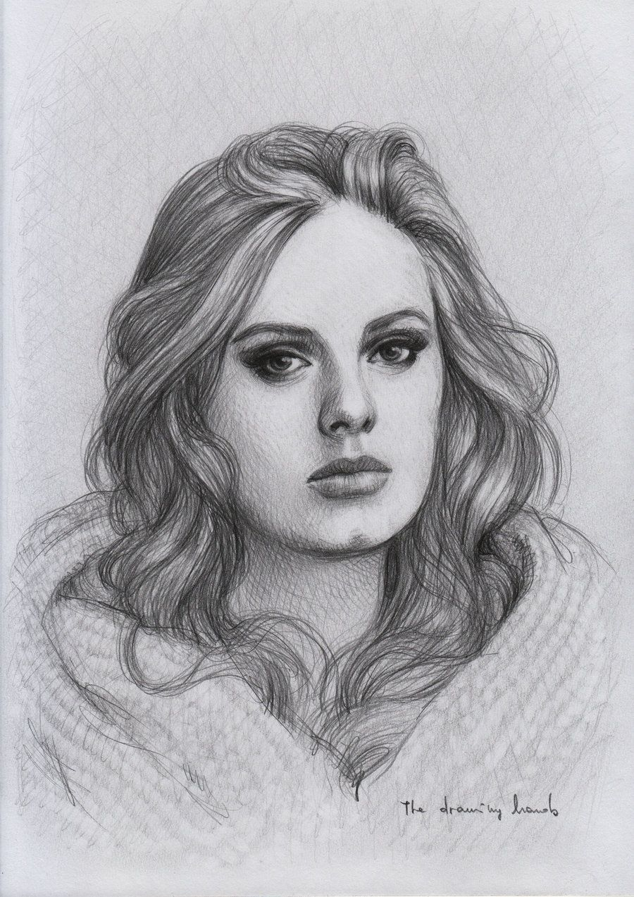 Adele by thedrawinghands on deviantart