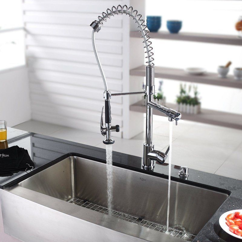 36 L X 21 W Farmhouse Kitchen Sink With Faucet And Soap Dispenser With Images Farmhouse Sink Kitchen Kohler Kitchen Sink Kitchen Sink Design