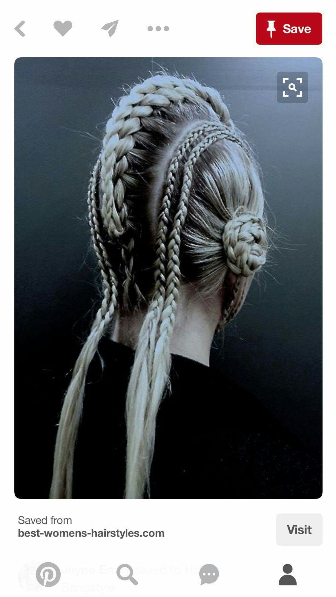 This image represents the style of hair i wish to create for my