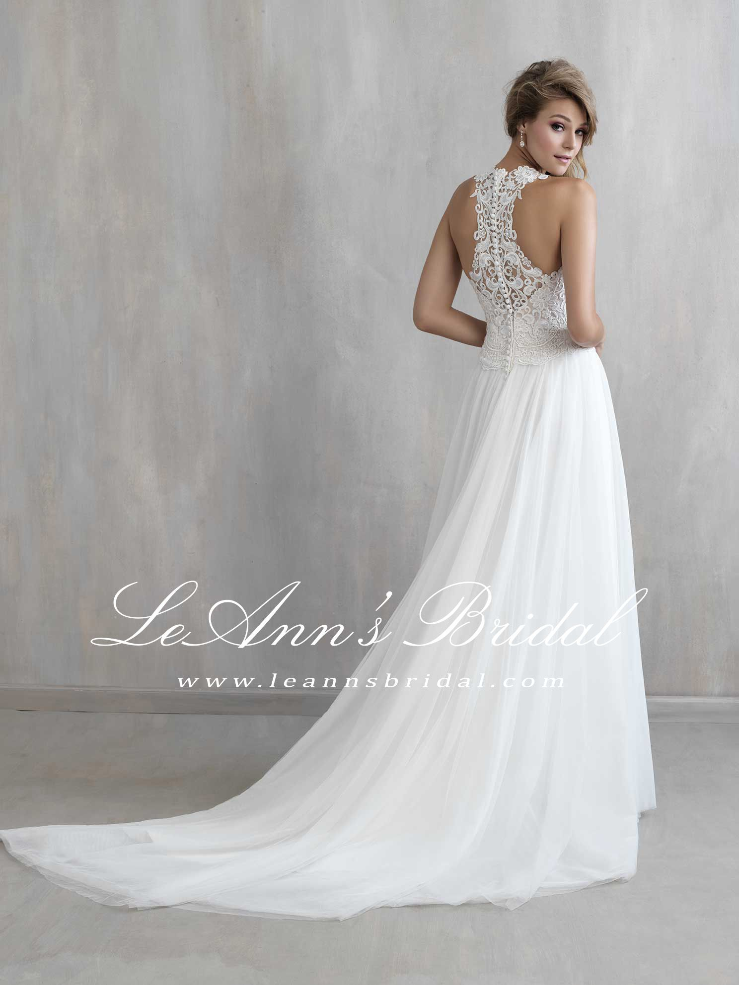 Madison james mj wedding dress the racerback is given an extra