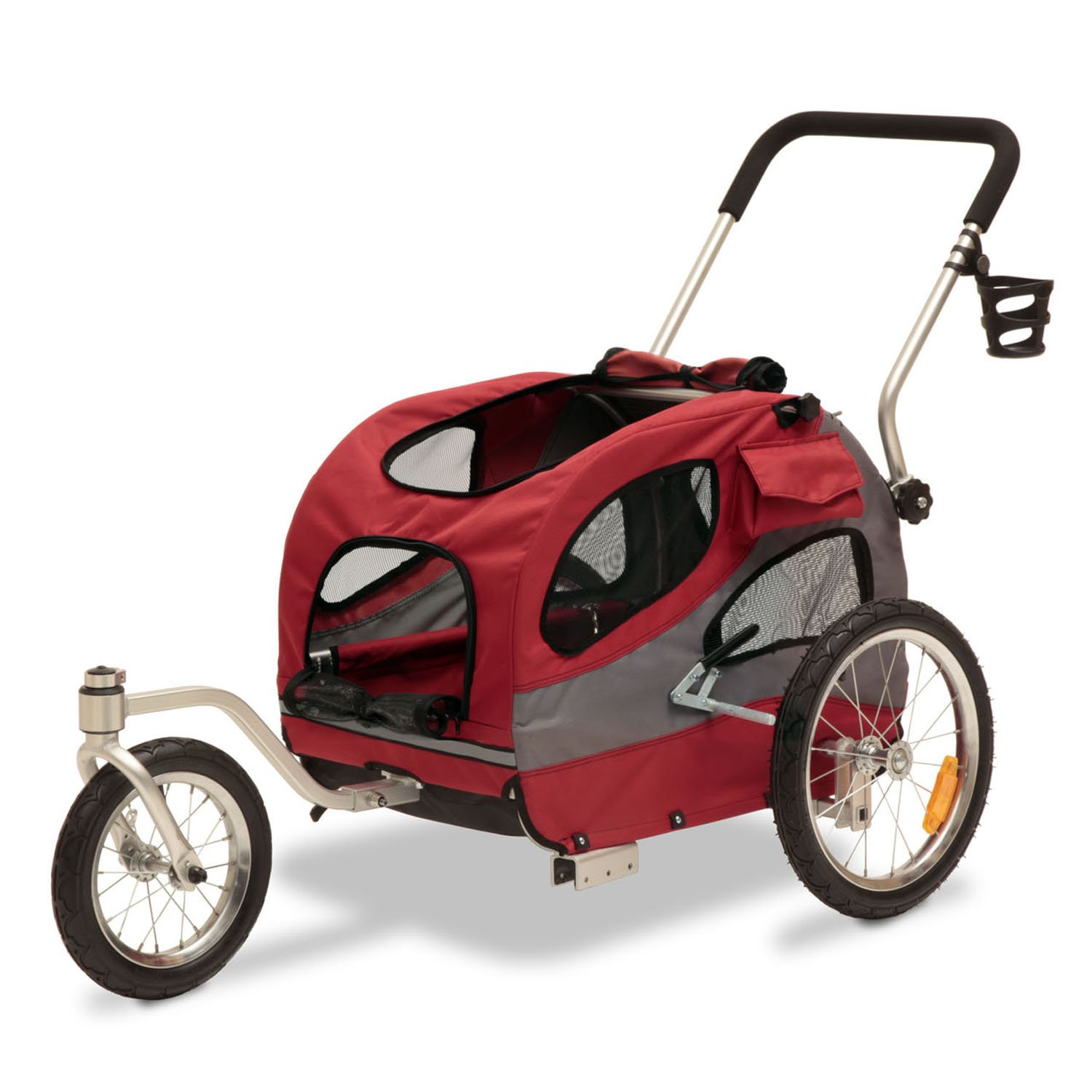 Solvit HoundAbout II Stroller Conversion Kit, Medium, Red