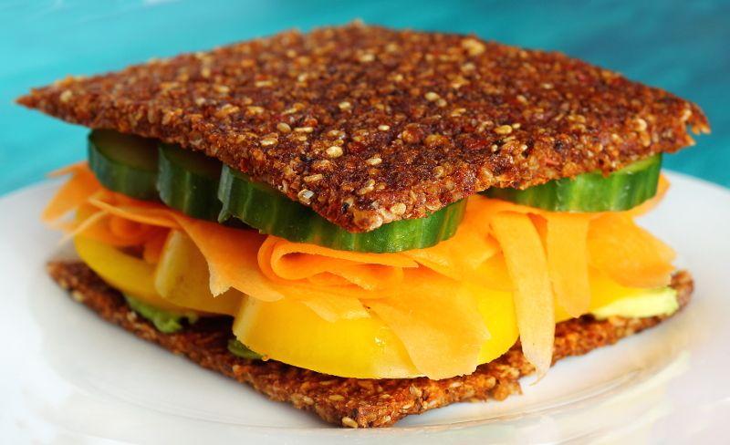 Raw Vegan Mediterranean Dehydrator Bread Recipe Raw Food