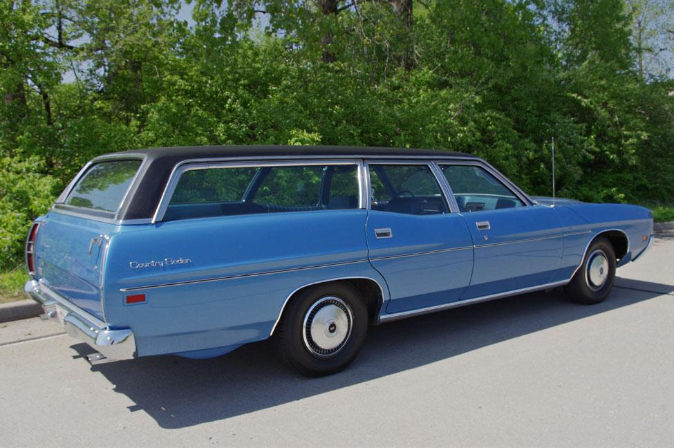 1972 Ford Country Sedan Wagon The Galaxie Version Of The Full