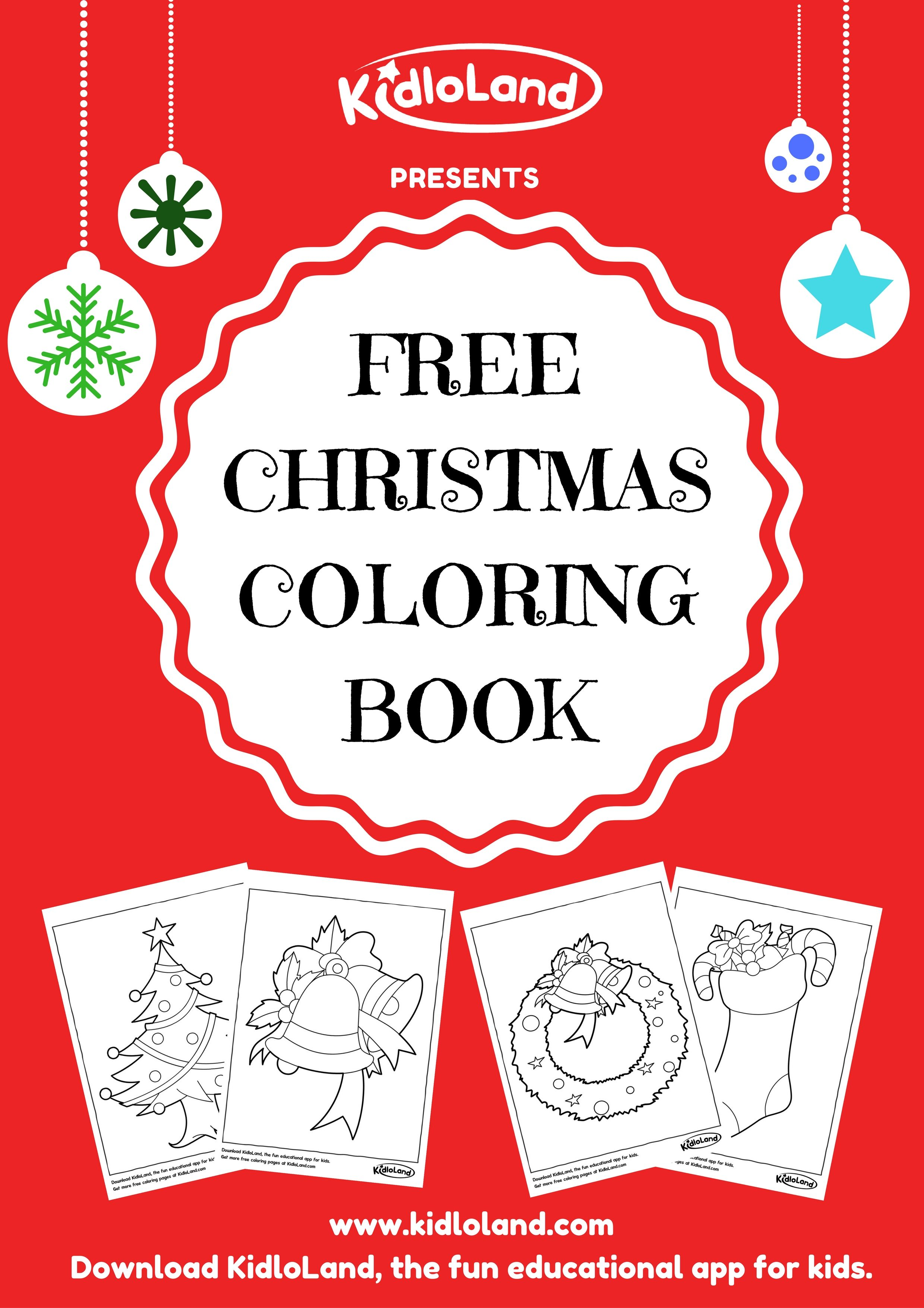 FREE CHRISTMAS COLORING BOOK