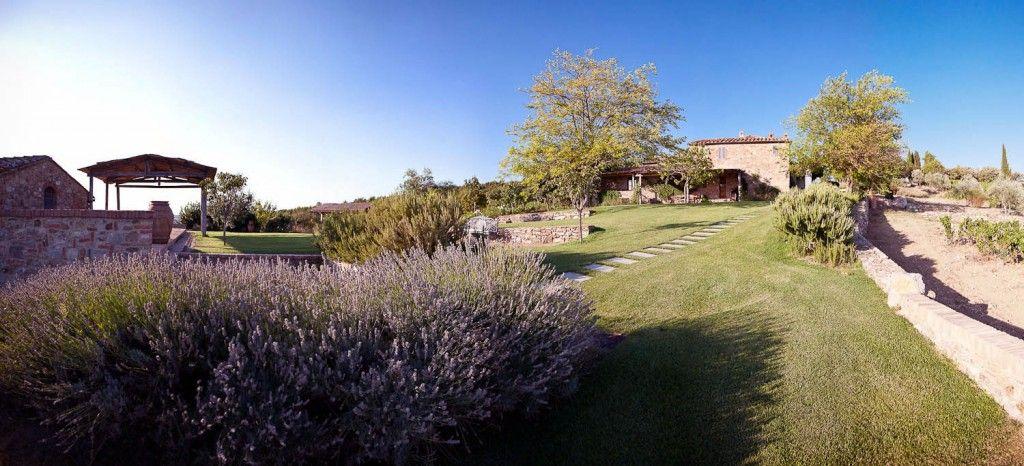 Beautiful Garden Italian Villa