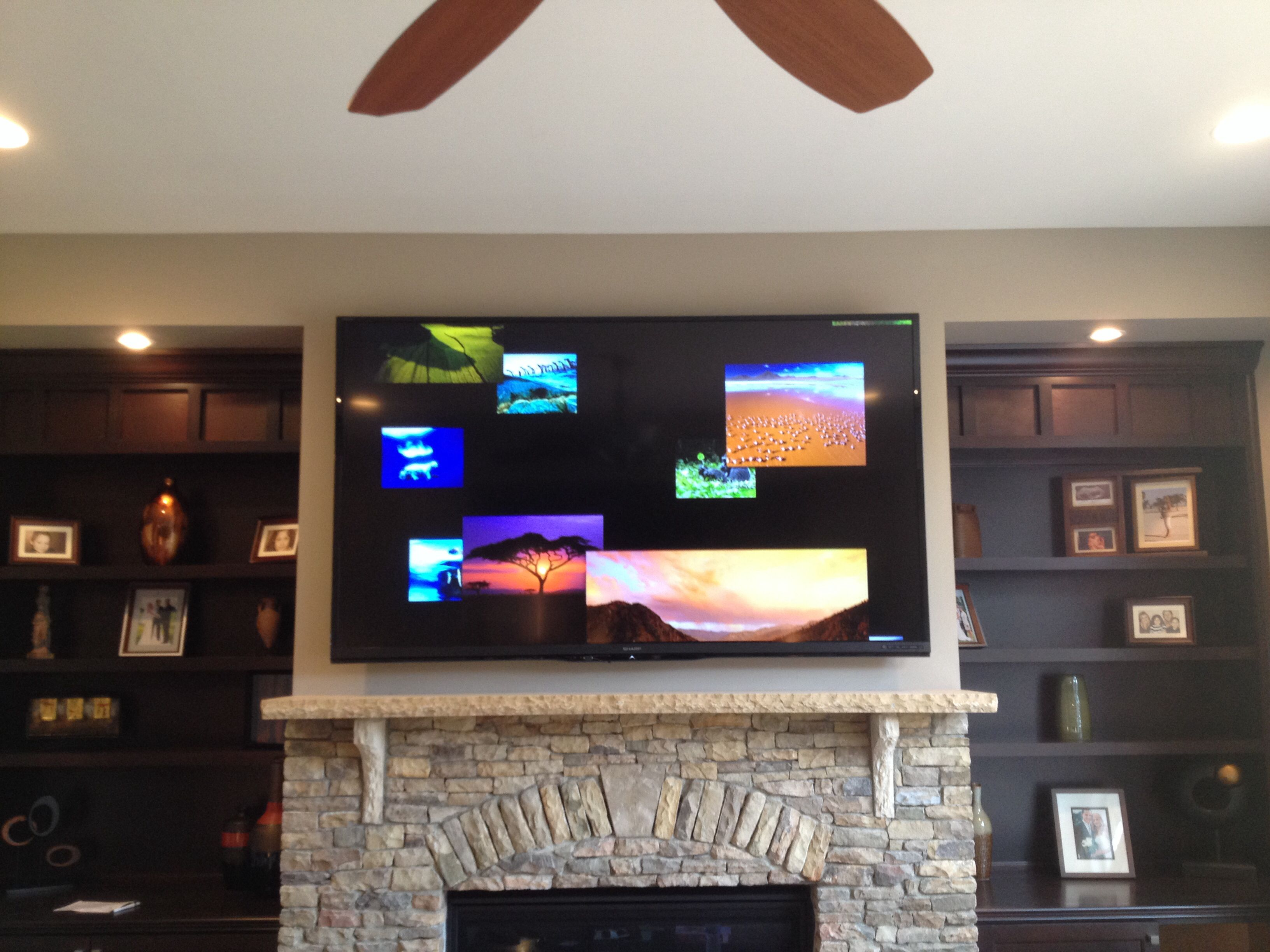 Badezimmer tv ~ Inch sharp aquos tv wall mounting service charlotte home