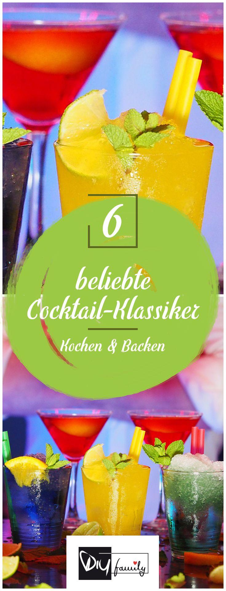 Die 10 Beliebtesten Cocktails