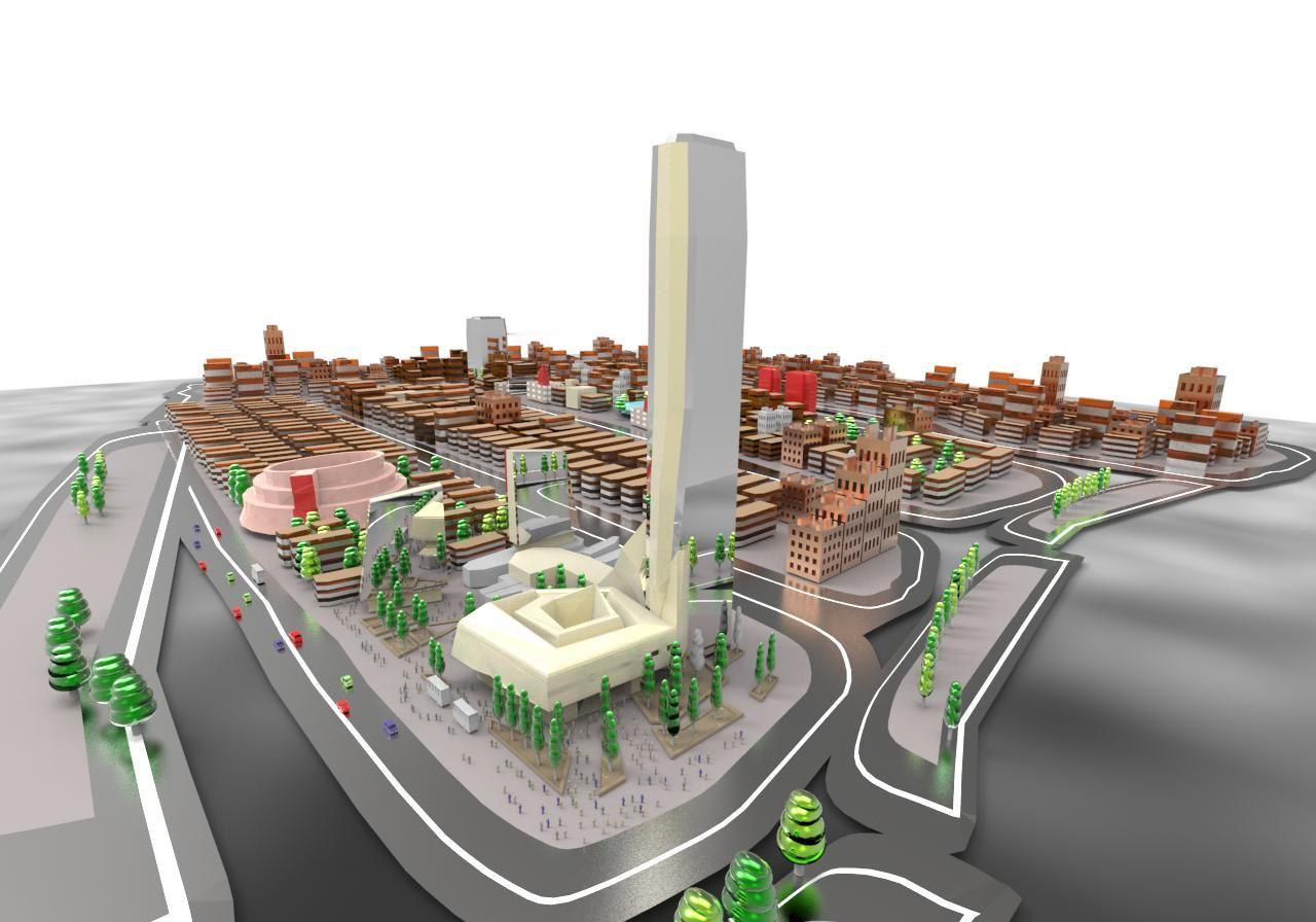 modelado de una ciudad