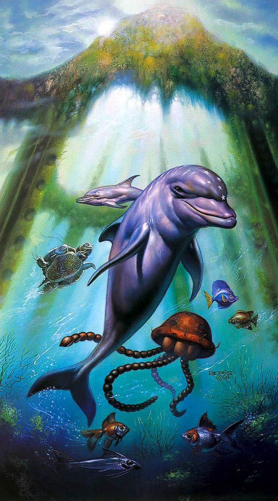e2f8b47668ef Cover art Ecco the Dolphin II - The Tides of Time