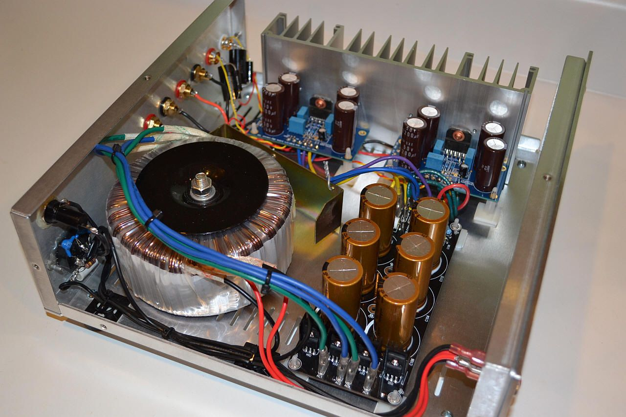 Easy Amplifier Hifi Ocl 150w Rms By Transistor