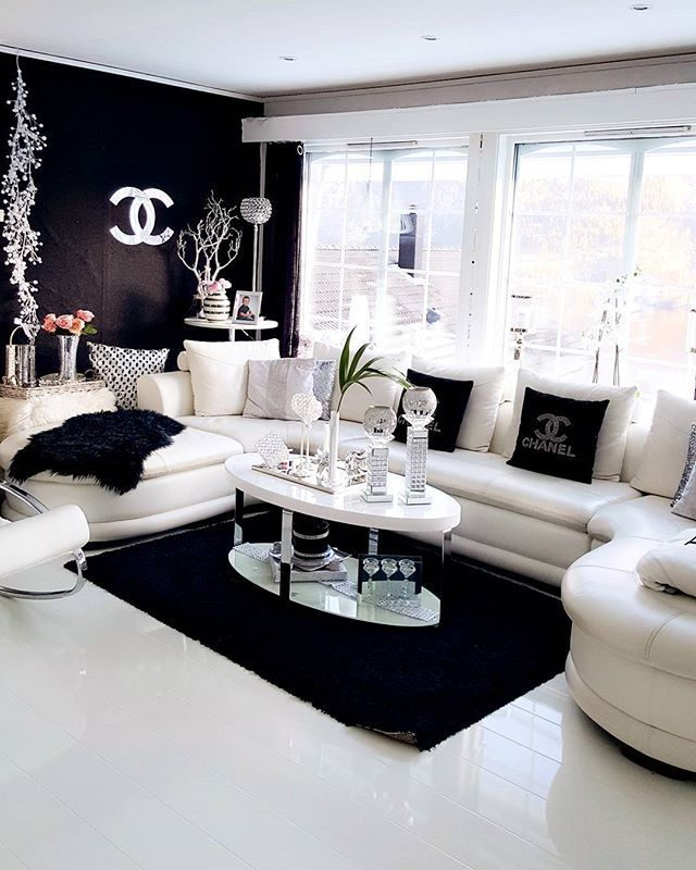 15 Modern Living Room Decorating Ideas 15 Modern Living: Glamorous Coco Chanel Inspired Living Dior Silver Accents