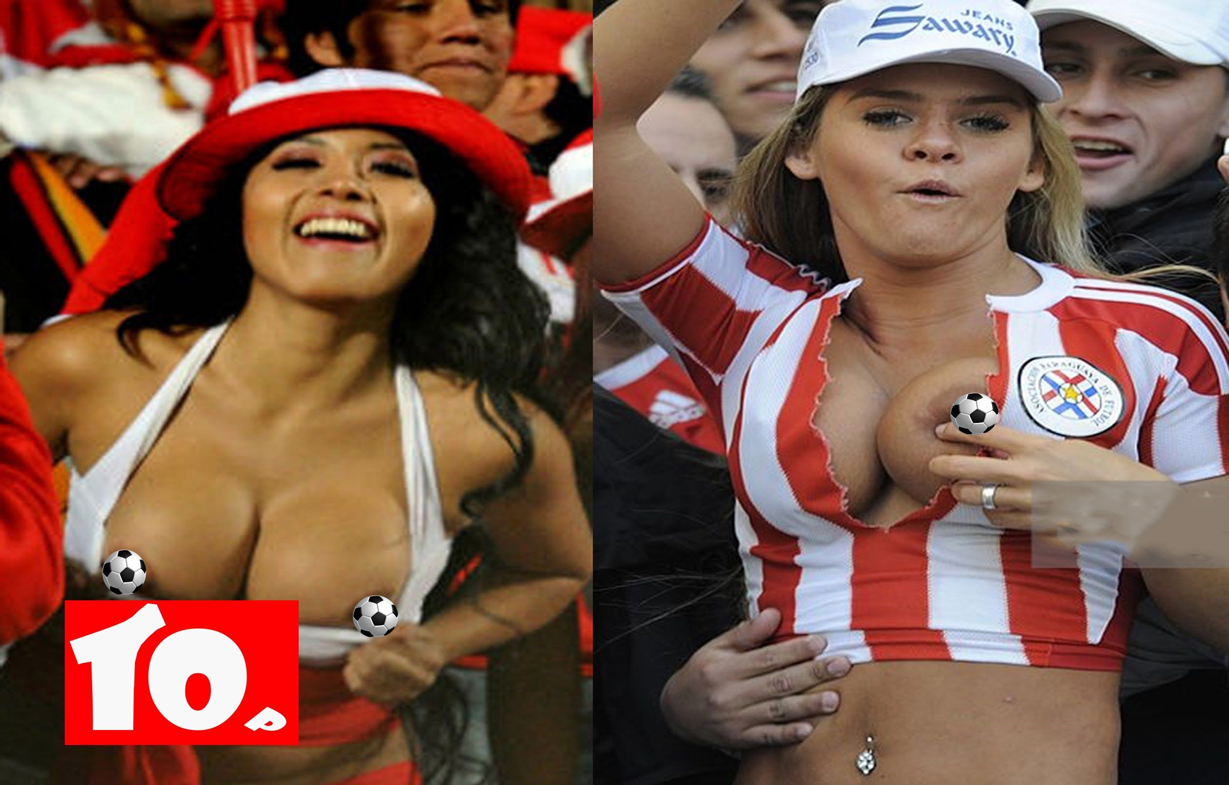worldcup fans Nude