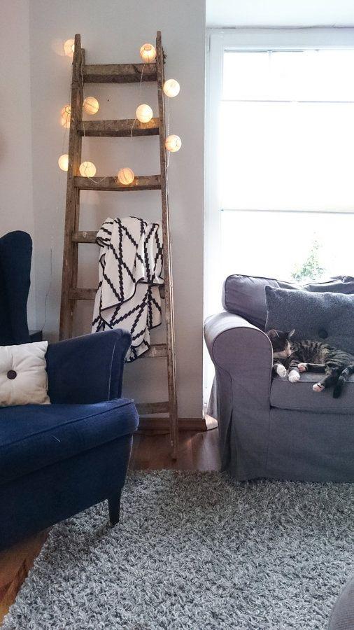 Husch, husch ins Häuschen! Hygge, Living room ideas and Living rooms
