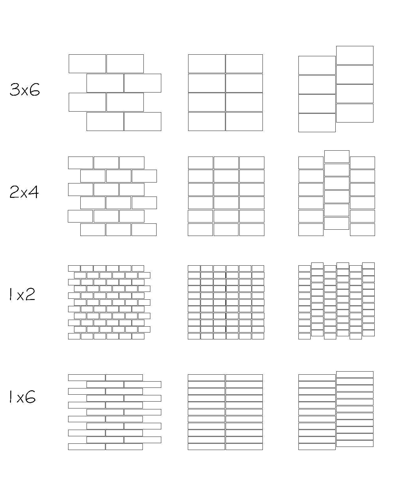 tile layout patterns