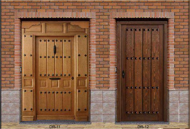Oferton puertas r sticas baratas puertas baratas for Puertas exteriores baratas
