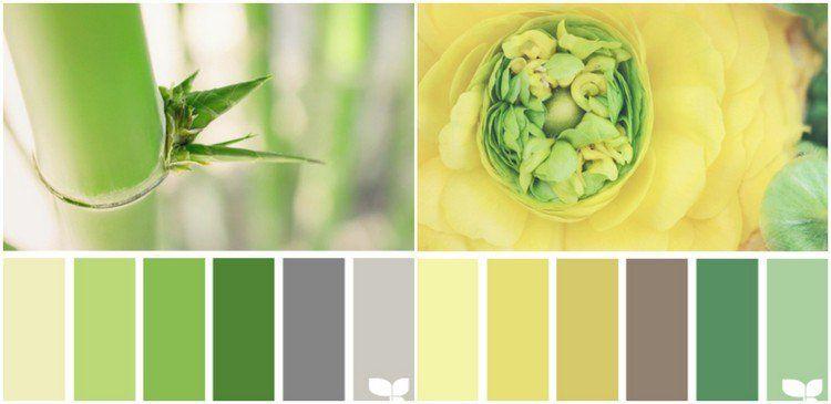 Couleur pour cuisine 105 id es de peinture murale et fa ade d coration maison pinterest - Cuisine jaune et verte ...