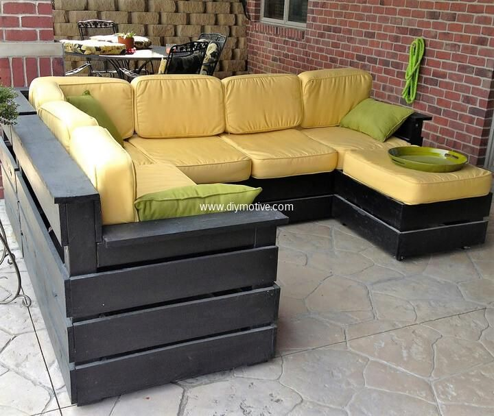 High Quality Awesome Ideas For Pallets Patio Couches